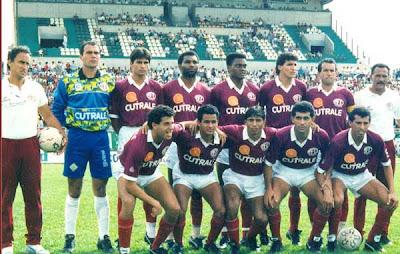 Resultado de imagem para ferroviária de araraquara 1996