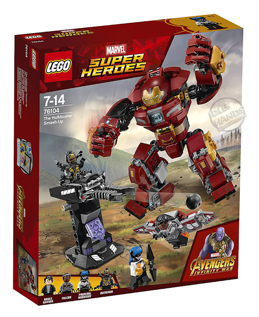 LEGO Marvel Super Heroes Infinity War The Hulkbuster Smash-Up