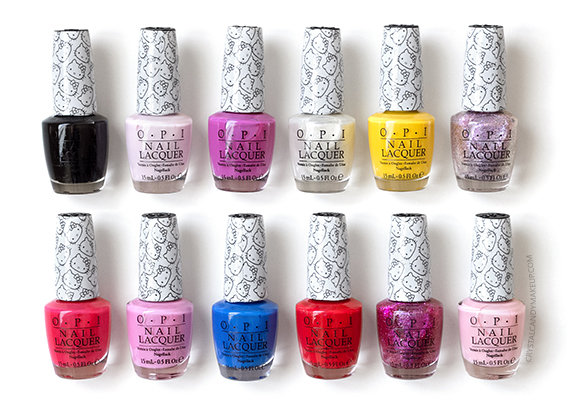 OPI Hello Kitty Collection Review Photos