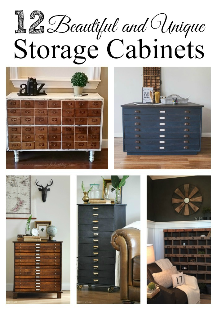 Unique And Vintage Storage Cabinets