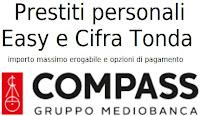 Finanziamenti personali Compass Cifra Tonda e Easy: importi e caratteristiche