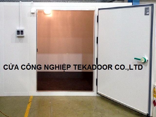 Cửa bản lề kho lạnh mở cánh Freezer Chiller Door