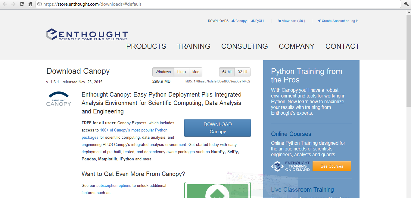 4) Enthought Canopy Easy Python Deployment Plus Integrated Analysis Environment for Scientific Computing Data Analysis and Engineering. Package List  sc 1 st  Geospatial Solutions Expert & Geospatial Solutions Expert: How to install multiple python ...