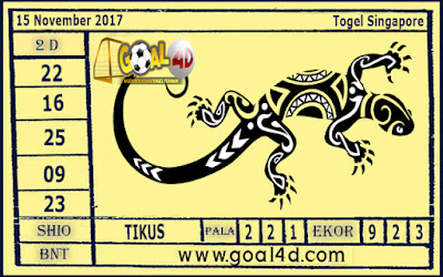 Prediksi Togel Singapore 15 November 2017
