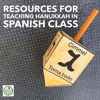 Resources for Teaching Hanukkah in Spanish Class