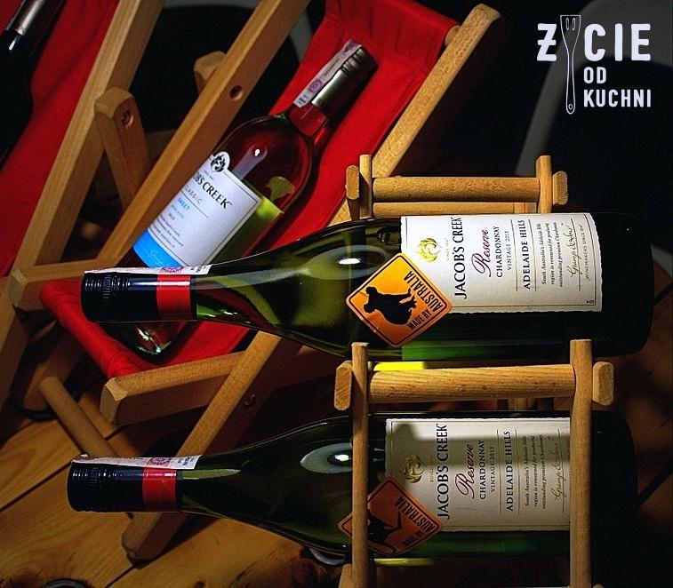 jacob's creek, jacobs creek, australijskie wino, dobre wino, lezakowanie wina, zycie od kuchni