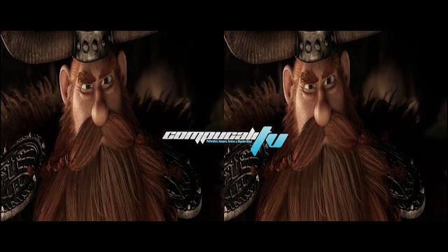 Como Entrenar a tu Dragon 2 3D SBS Latino