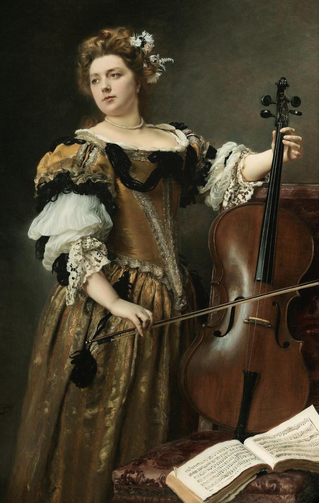 Gustave Jacquet | Academic Portrait painter | Tutt\'Art@ | Pittura ...