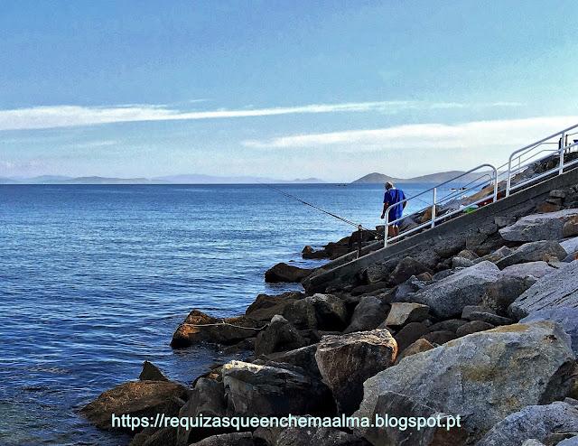 Passeio Pedonal do Club Nautico com os acessos para o mar