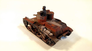 Early War Polish 7TP Tank