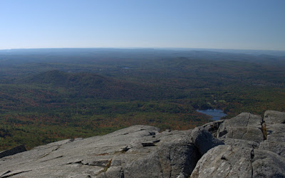 Gap Mountain and Little Monadnock as seen from the top of Mt. Monadnock