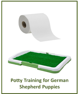 Potty Training for German Shepherd Puppies