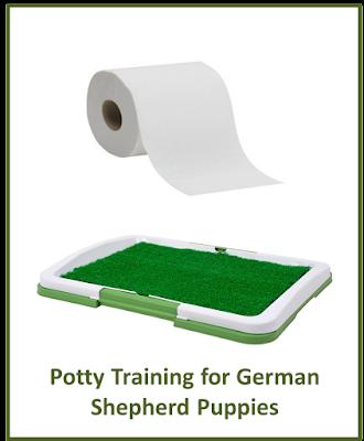 Potty Training for German Shepherd Puppies