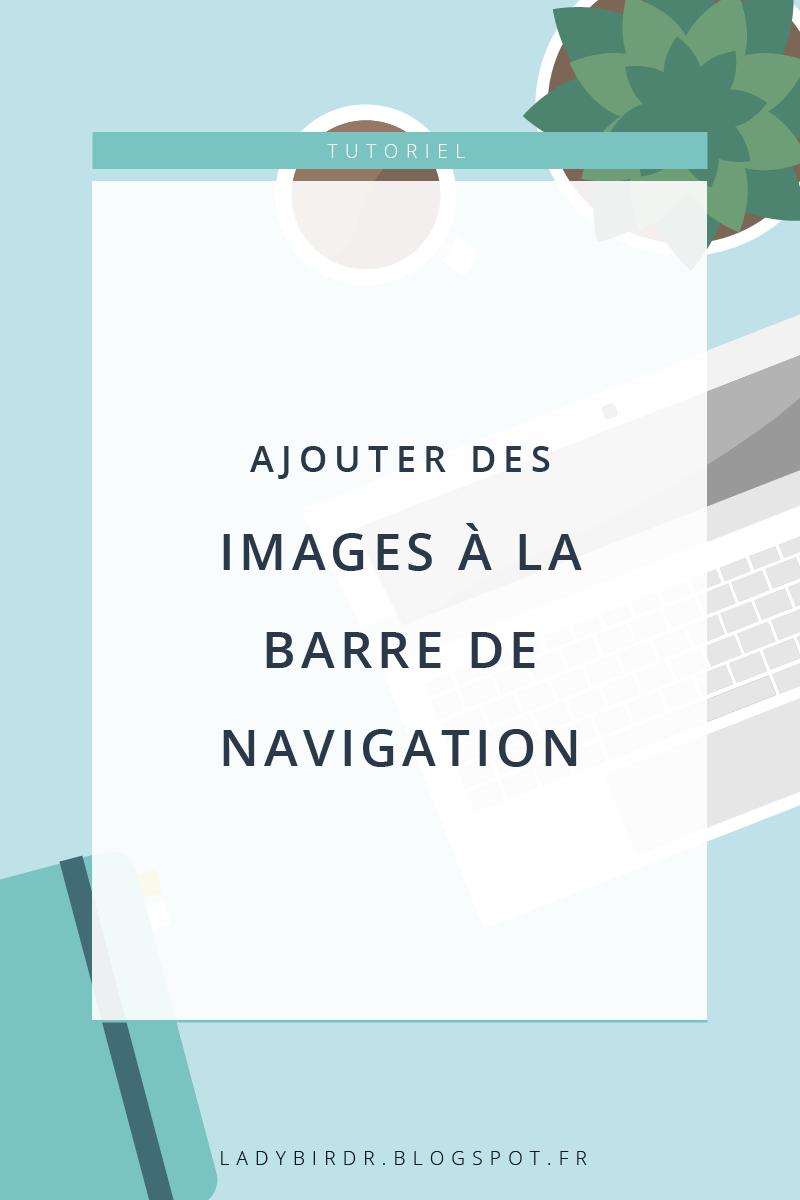 Ajouter des images à la barre de navigation