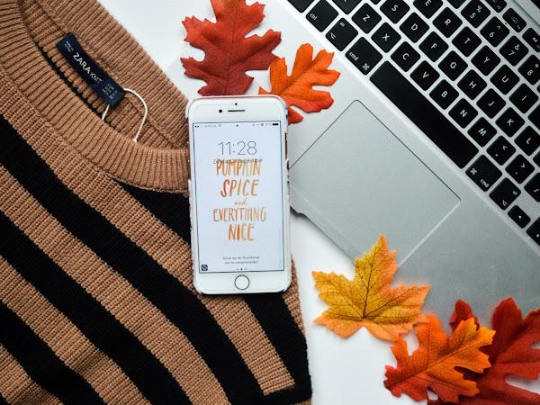 De leukste herfst achtergronden voor je telefoon!