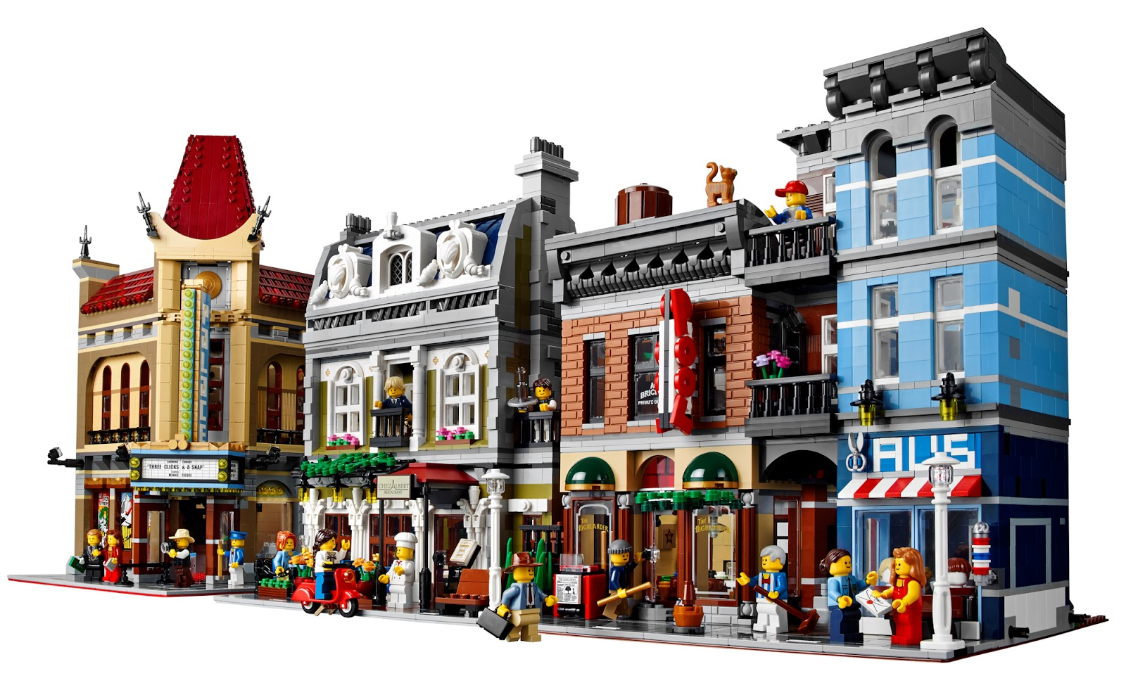 The Brickverse: Detective's Office