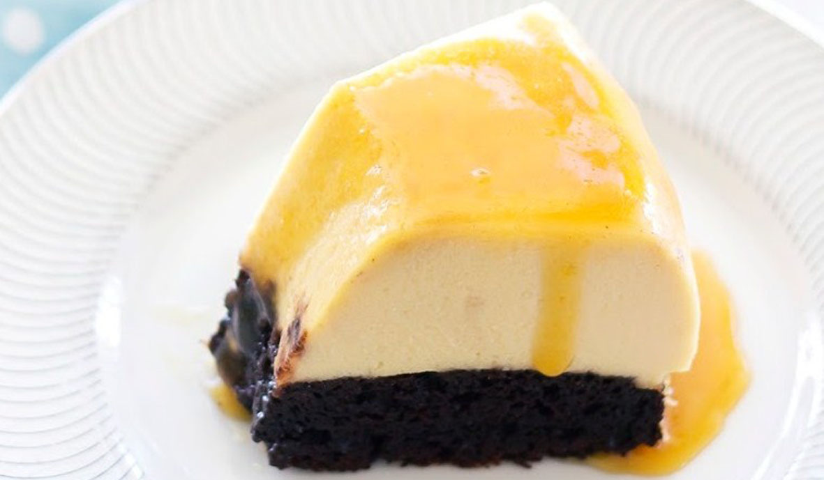 Resep Magic Flan Cake