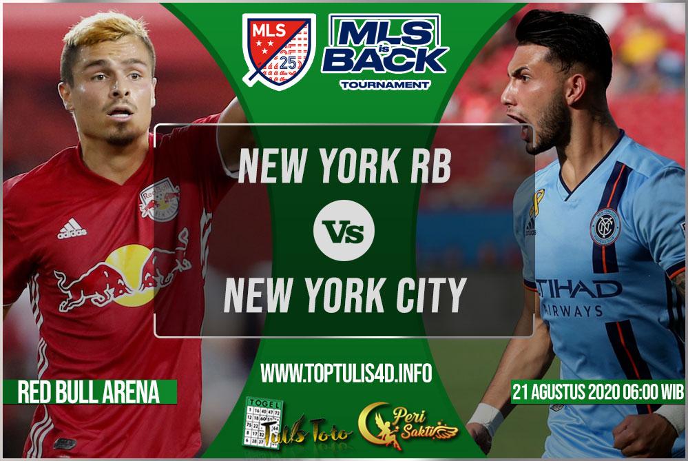 Prediksi New York RB vs New York City 21 Agustus 2020