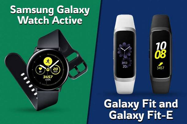 Galaxy Watch Active dan Galaxy Fit