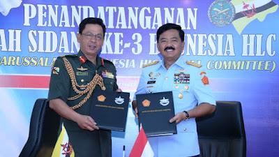 Panglima TNI : Sidang Ke-3 Brunesia HLC Miliki Peran Penting Dalam Memelihara Stabilitas dan Kemajuan Di Kawasan Asia-Tenggara