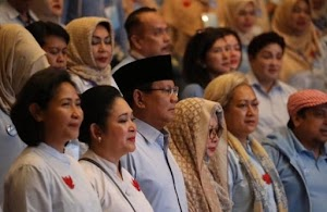 Prabowo : Saya Ajak Emak-emak Pilih TPS Mana Yang Harus di Jaga