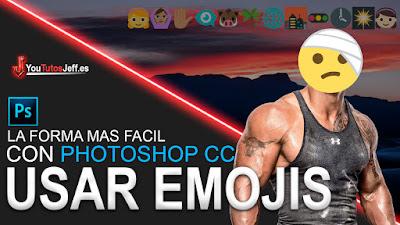 Emojis, photoshop, usar emojis