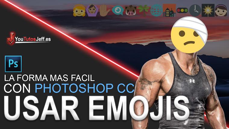 Como Poner Emojis con Photoshop CC 2018