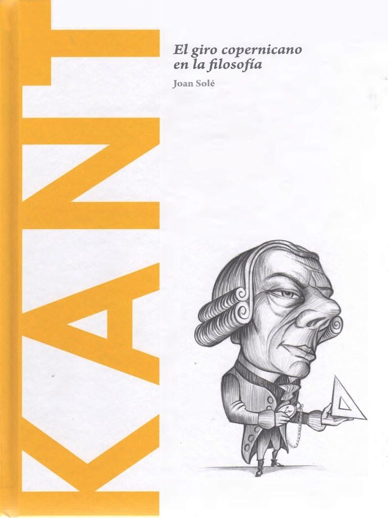 Kant: El giro copernicano en la filosofía – Joan Solé