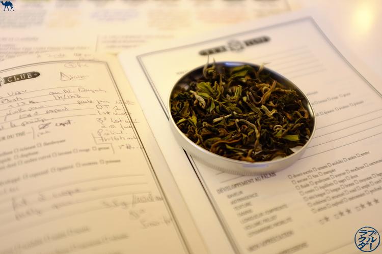 Le Chameau Bleu -  Dégustation de Darjeeling au Tea Club de  Mariage Frères Paris