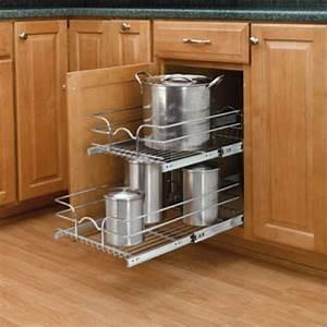 Organize Sliding Kitchen Cabinets