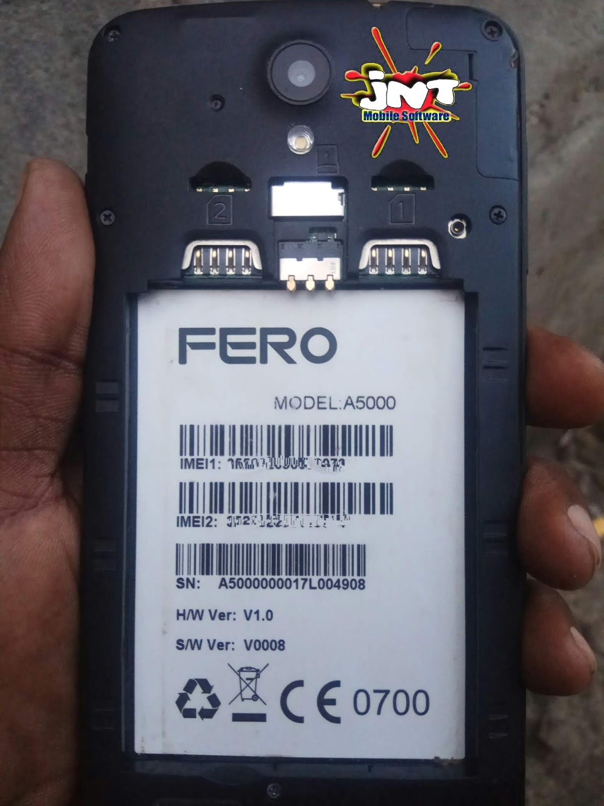 FERO A5000 FIRMWARE/ FLASH FILE DOWNLOAD, TESTED AND 100