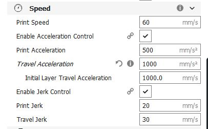 3D Printing - Smoother prints with Cura - Acceleration and
