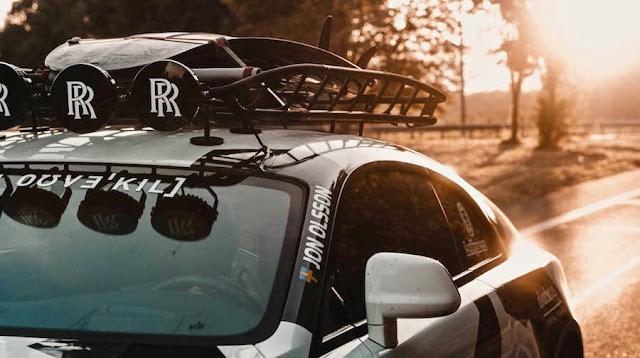 プロスキーヤーのヨン・オルソンが「ロールス・ロイス」をユニーク過ぎるデザインにカスタム!