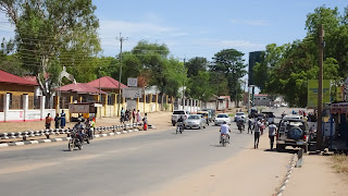 Along one of the main roads through Juba