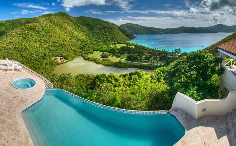 Harbour House Villa, Guana Island