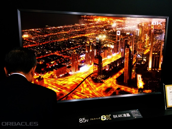 Sharp 8K Aquos 70 inch TV is pretty awesome  - Orbacles - The Other