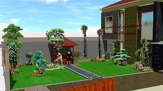 Taman rumah surabaya jawa timur www.jasataman.co.id