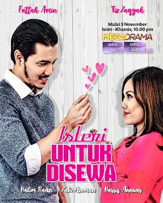 Tiz Zaqyah, Fattah Amin, Isteri untuk Disewa, Drama Melayu,
