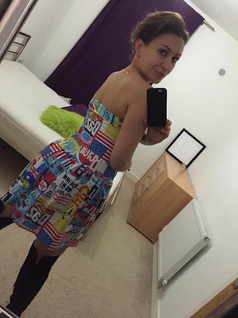 Adriana Style Blog, blog modowy Puławy, Energia, Energy, Fashion, moda, Phenomenal Us, Pop Art, Pop Art Dress, Sukienka Pigeon Bielizna, Vibrant Colours, Żywe kolory