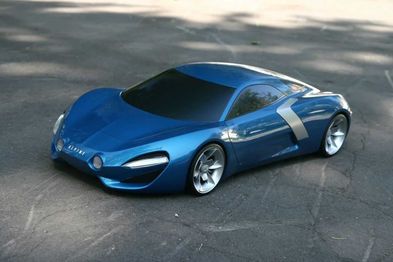 renault alpine concept built on nissan gt r chassis. Black Bedroom Furniture Sets. Home Design Ideas