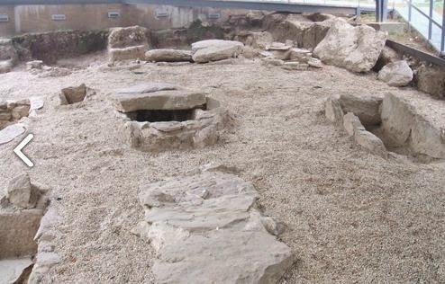 Restos arqueológicos en Remedios