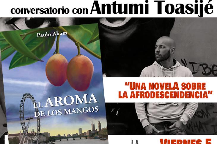 Paulo Akam presenta en Madrid 'El aroma de los mangos', una novela sobre la afrodescendencia