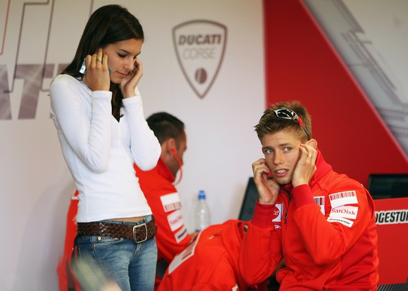 casey stoner | with his wife photos-images | all about sports