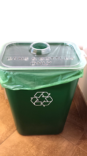 Recycling Bin for bottles and cans