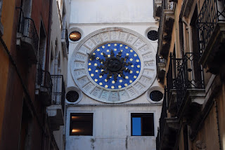 arrière tour de l'Horloge Venise