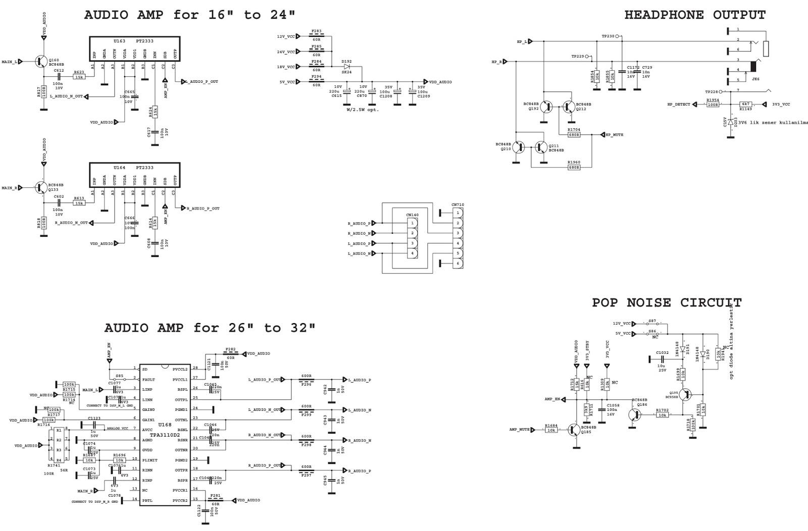 Diagram  Sharp Lc 46d654e Lcd Tv Schematic Diagram Full Version Hd Quality Schematic Diagram