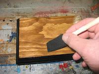 Applying spar varnish