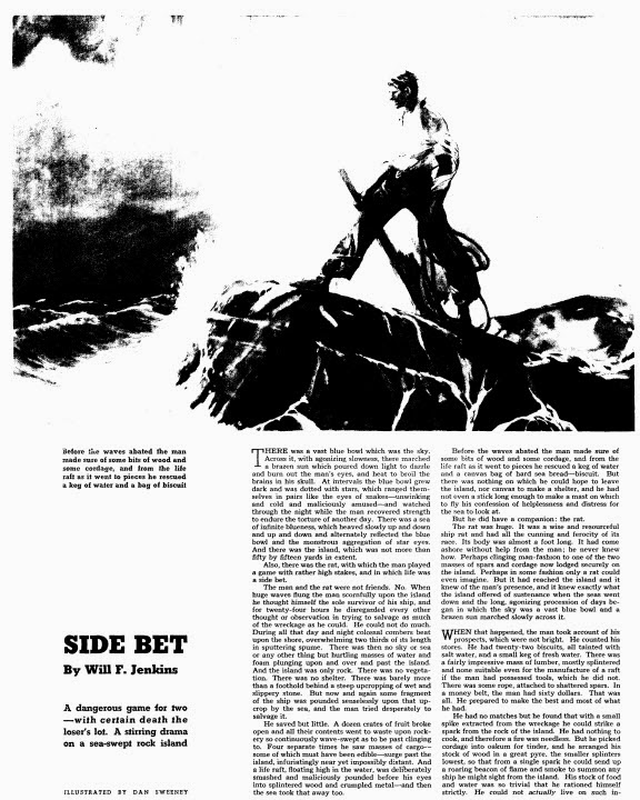 Side Bet by Will Jenkins - Colliers Weekly 1937