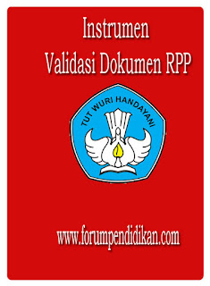 Instrumen Validasi Dokumen RPP