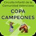 Copa Campeones Infantil 2018. Actualizados listados con los últimos torneos hasta el 10 de junio en Massanassa